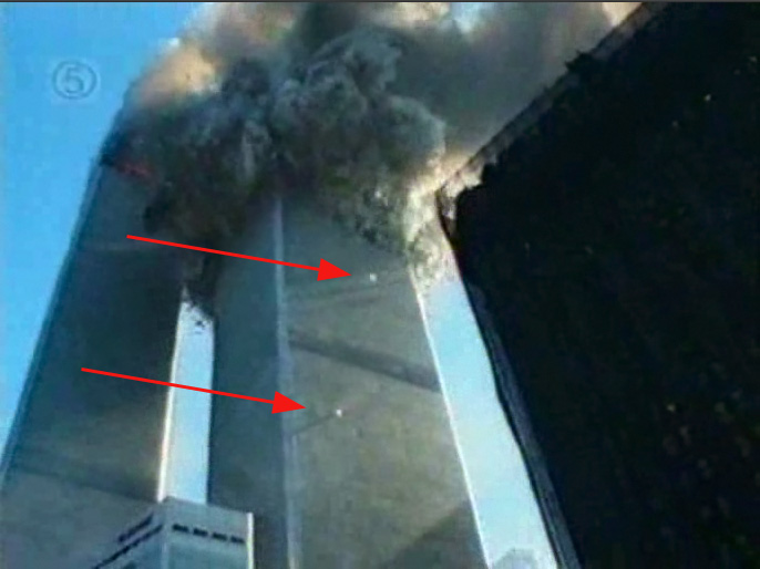 The Twin Towers Falling Down Www Pixshark Com Images